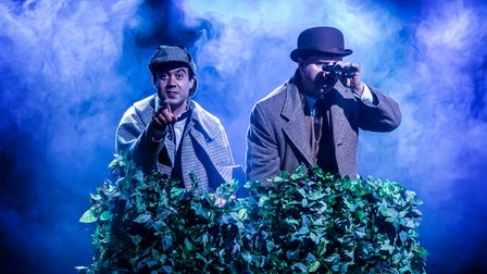 Sherlock Holmes tale The Hound of the Baskervilles can be seen on stage at Cambridge Arts Theatre.