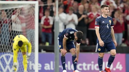 Billy Gilmour and Grant Hanley were part of Scotland's side beaten in Demark