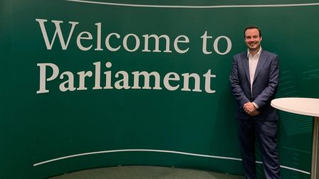 Simon Jupp MP at Parliament Picture: Peter Fage
