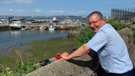 David Evans is one of more than 1,600 people that have, so far, volunteered through the Community Helpline.