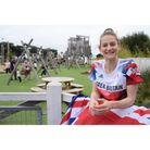 Olympian Bryony Page officially opened the Adventure Village at Caister-on-sea Holiday Park Picture: Denise Bradley