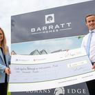 Cambridgeshire, Peterborough and South Lincolnshire (CPSL) Mindwere given a £1,000 donation Barratt Homes
