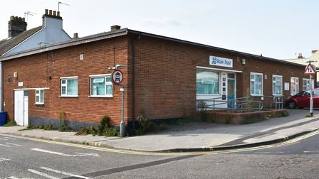The former Shaw Trust offices in Lowestoft which could be redeveloped into four new retail units.