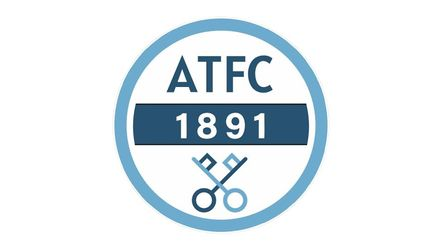 Arlesey Town's new badge as designed by 12-year-old Etonbury Academy student Emma Martin.