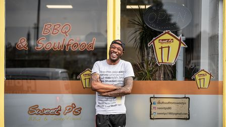 Pierre Rollins owner of Sweet P's in Ipswich. Picture: Sarah Lucy Brown