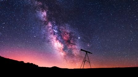 Scan Dorset's dark skies with a telescope or binoculars for starry highlights