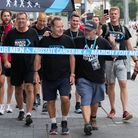 Jeff Stelling completes his latest walking challenge in support of Prostate Cancer UK