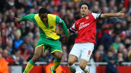 Former Arsenal player and now coach Mikel Arteta is coming under pressure ahead of Norwich City trip