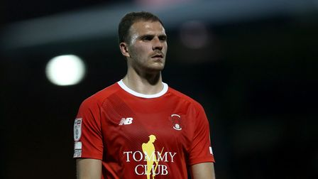 Harry Smith of Orient during Leyton Orient vs Harrogate Town, Sky Bet EFL League 2 Football at The B