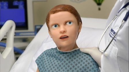 Hal the paediatric robot, welcomed to the N&N this week