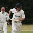 Jonny Hall took four wickets as St Albans snatched promotion on the final day of the Herts Cricket League season.