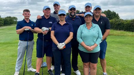 Nine members from Mendip Spring raised more than £4,400 for Prostate Cancer UK by playing four rounds of golf non-stop.