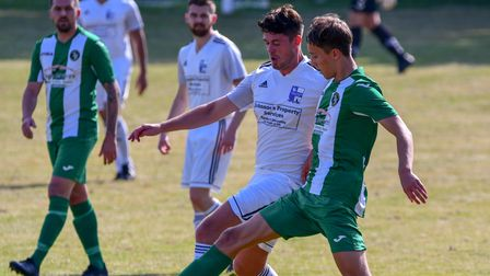 Action from Nailsea & Tickenham's clash with Stockwood Green