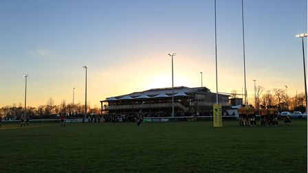 Old Albanian Rugby Club's opening game of the season was overshadowed by the death of Henley Hawks' Dave Hyde.