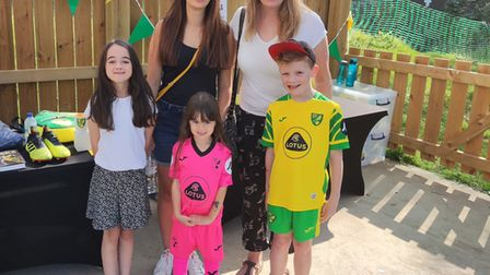 Norwich City Fans Social Club family fun day at The Nest