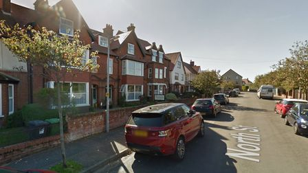 An application has been lodged to turn a former care home in Sheringhaminto two townhouses.