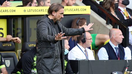 Norwich Head Coach Daniel Farke during the Premier League match at Carrow Road, NorwichPicture by