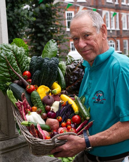 """Gary Sycamore """"Cooks Delight' Highgate Horticultural Society Autumn show 2021"""