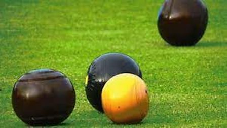 The outdoor bowls season is drawing to a conclusion