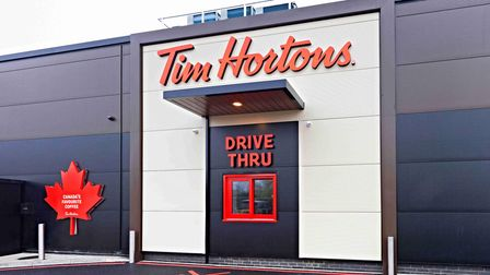 Tim Hortons is to open in Ipswich's Anglia Retail Park later this year