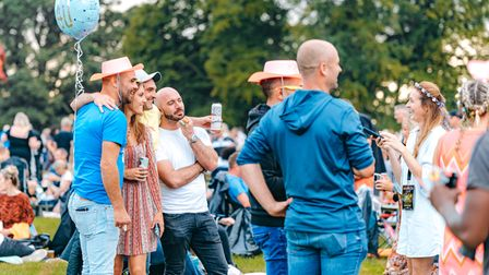 Classic Ibiza's social spaces will be back at Hatfield House when the concert returns on Saturday, August 20, 2022.