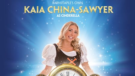 Barnstaple's Kaia China-Sawyer will star as Cinderella in this year's pantomime performance
