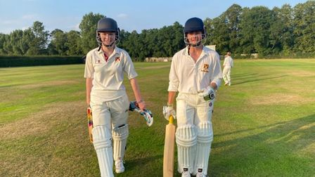 Teenagers Nina Jerman and Alex Mear saw Waresley's Sunday side to a six-wicket win overLittle Paxton.