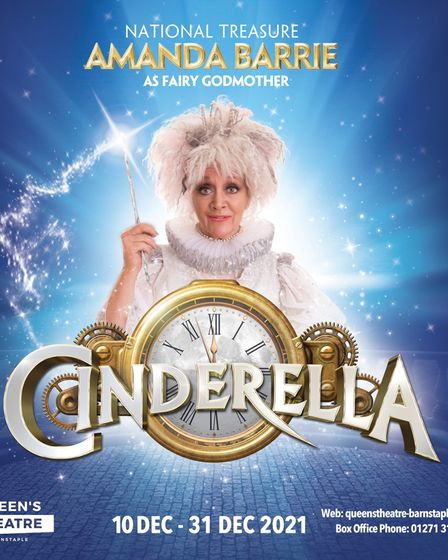 Amanda Barrie, of Coronation Street, Carry On Cleo andBad Girls, isreturning for her third year running