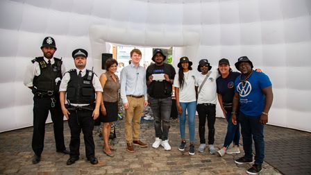 Thank you Youth event which took place at Romford Market.Picture by Ellie Hoskins