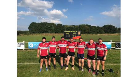 Winscombe RFC now take on Clevedon RFC on Saturday.