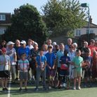 Members of Cranbrook Castle Lawn Tennis and Social Club on Sunday (September 5)