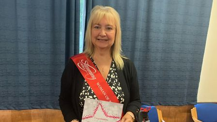 Linda Bailey Slimming World Woman of the Year