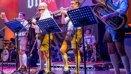 The Bavarian Strollers will perform at Epic Oktoberfest.