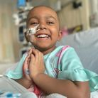 Esha, 4, requires a stem cell transplant to have a chance of survival