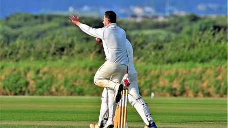 Off-spinner Mark Jesnick took three wickets in the title-winning match
