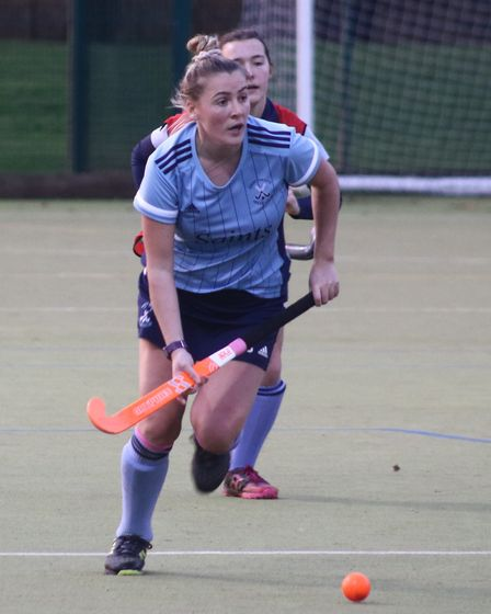 Emma Cody scored for St Neots seconds against St Ives.