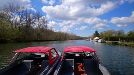 This week's sunshine has meant more fully booked days for Bishy Barney Day Boats