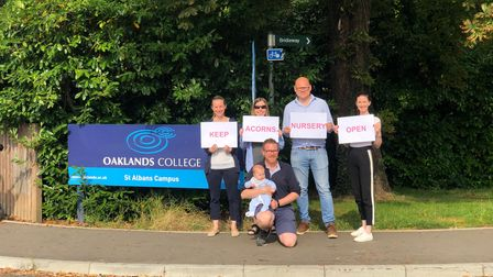 The Save Acorns Nursery Campaign represents parents, staff, teachers and students