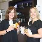 Tonic's Simone (left) and Nadine (right) supporting National Hygiene Week