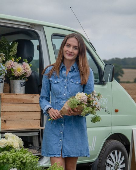 KellyTilsley launched Eva Lily Blooms in May 2020, which started as a delivery service from her Sprowston home.