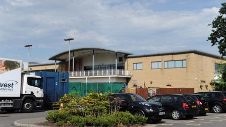 Travellers have been seen outside David Lloyd leisure in Ipswich