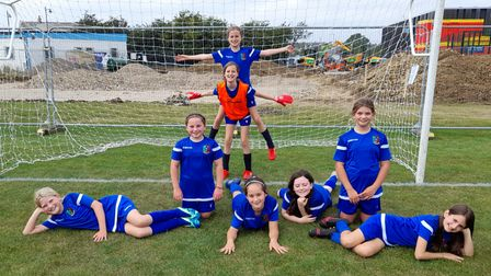 Saffron Walden PSG FC U11 Blues were one of a number of the club's teams in action at theCambourne Town tournament.