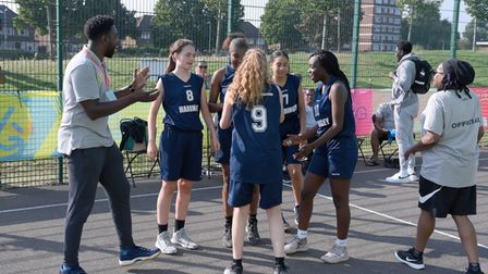 Haringey's basketball teams won gold in both our male and female East Regional Basketball competitions
