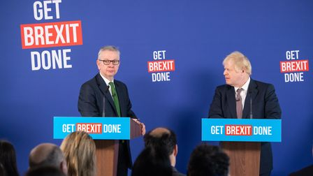 Prime Minister Boris Johnson and Chancellor of the Duchy of Lancaster, Michael Gove