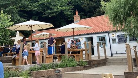 Exterior of The Fish Cottage in Sandsend