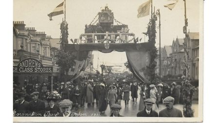 Old picture of 1911 Coronation Day