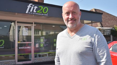 Fit20 in Hellesdon say they can help people get fit win tout the sweat by using high residence machi
