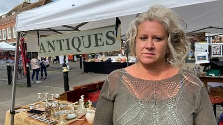 St Albans charter market trader Alice Young