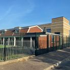 Bure Park Specialist Academy on the corner of Beresford Road and Perebrown Avenue.