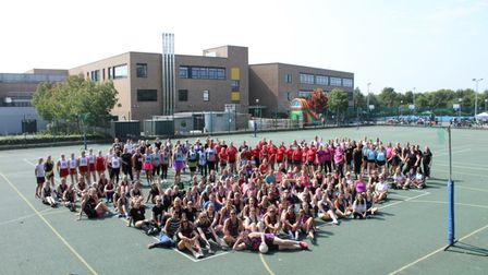 Twenty-four teams played in Saturday's netball tournament at Marriotts School, which raised more than £6,000